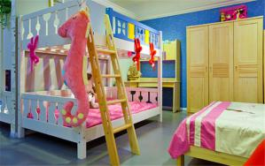 小户型三人房儿童房设计上