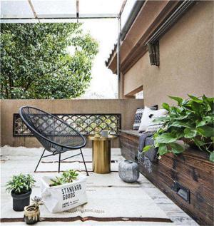 复式小阳台装修效果图