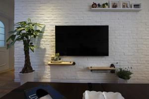 小户型家装电视背景墙