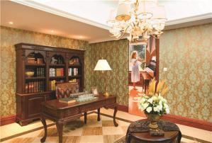 美式风格书房装饰设计