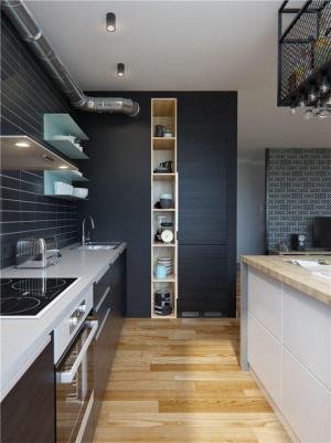 公寓铝合金整体橱柜