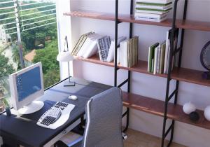简易旧版阳台书柜