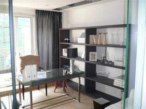 简易组装立式书柜