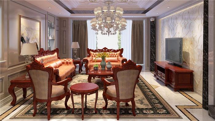 欧式装修红木家具