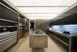不锈钢厨房间橱柜