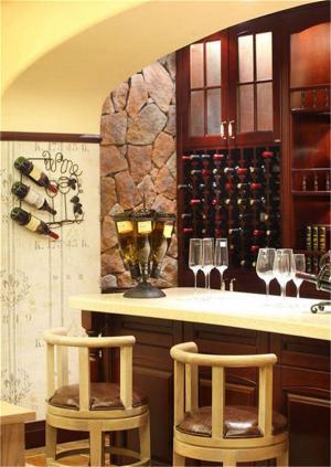 客厅酒柜吧台设计