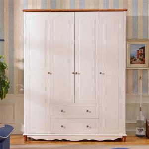美式卧室衣柜高度