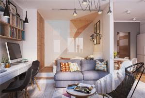 35平公寓小户型大空间