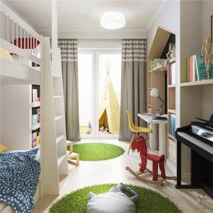 40小户型装修双层儿童房