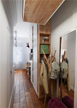 小户型复式装修玄关设计