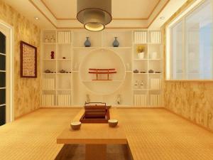 日式书房榻榻米日常设计