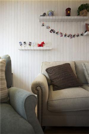 小户型室内设计沙发一角