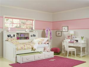 现代卧室高低床装修效果图