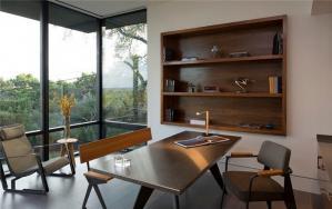 简约现代中式书桌