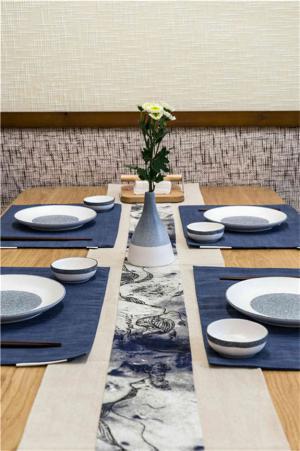 日式装修餐具装饰