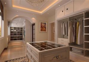 豪华现代简约整体衣柜