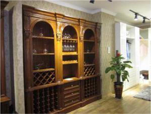 家装酒柜设计实拍