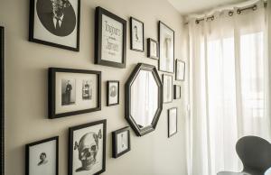 小户型旧房改造照片背景墙