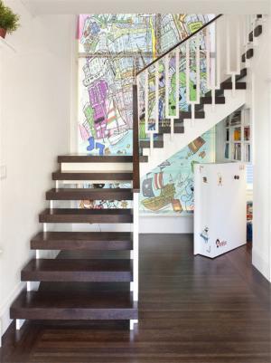 楼梯隐形门装修效果图大全