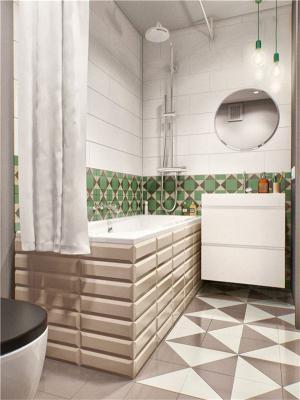 小户型复式装修卫浴室设计