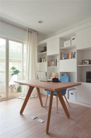 可折叠书桌书房布置效果图