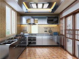 耐用不锈钢厨房橱柜