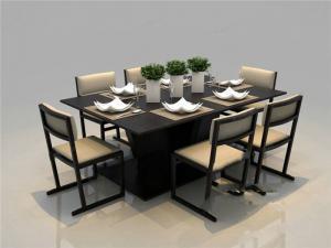 时尚折叠餐桌