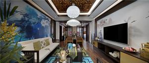 新中式风格背景墙