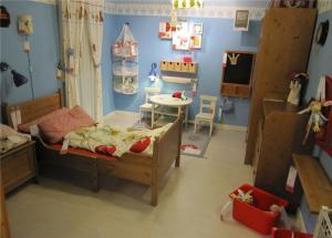 温馨家居儿童房家装样板间