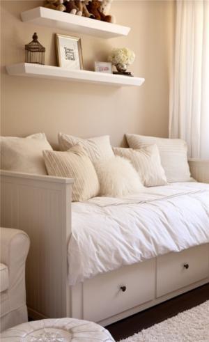 小空间儿童房设计榻榻米床