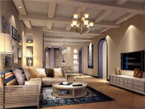 三居室地中海风格装修