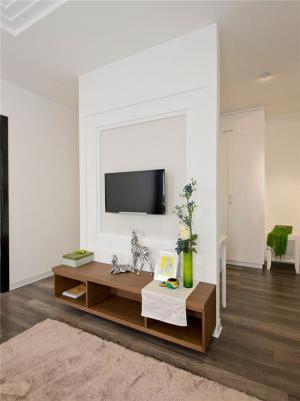 现代家庭装饰电视背景墙