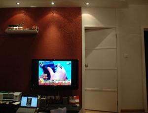 客厅家装隐形门