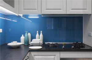 简易厨柜背景墙