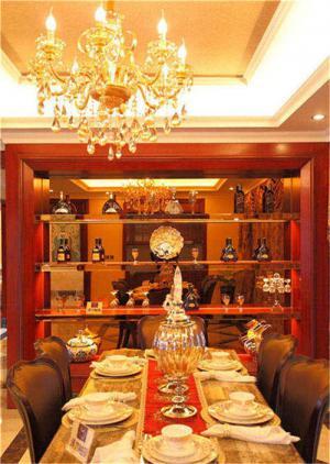 家用酒柜实景图
