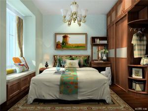 小户型卧室整体衣柜
