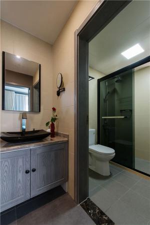 小户型60平米装修卫生间