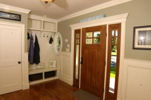美式家庭家庭装修玄关效果