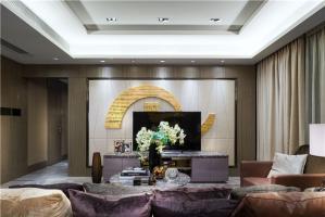 三居室最流行电视背景墙
