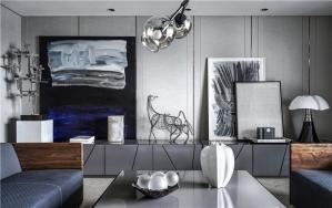客厅现代简约背景墙