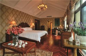 东南亚风格单人床