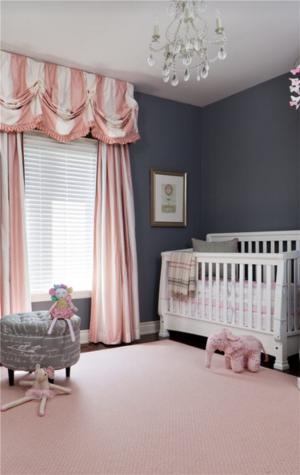 儿童房吊顶效果图婴儿房装