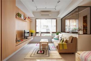 日式风格电视墙装修效果图