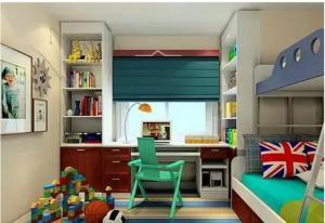 儿童书房装修设计设计图