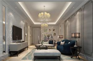 新古典风格一居室套房