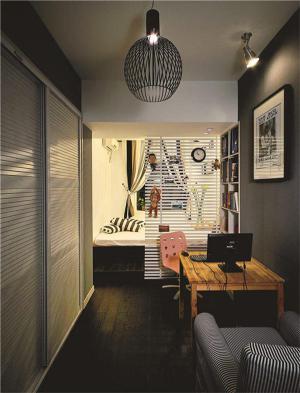 小公寓书房装饰设计