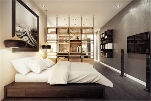 时尚卧室装饰柜