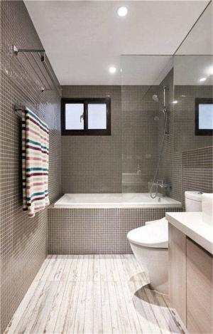 小户型家装样板间卫生间装