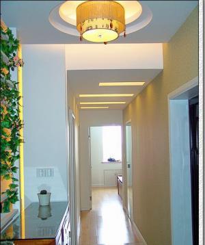 玄关吊顶装修效果图灯具搭