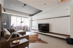 两居室美式电视背景墙